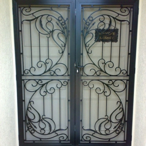 Colonial Castings Decorative Security Doors