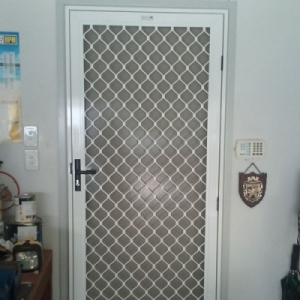 Security Grille Heavy Diamond Design