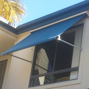 Canvas Awnings with Internal Control